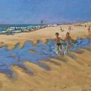 Montalivet France Art Print