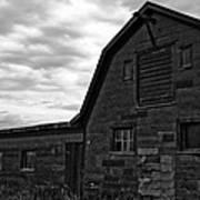 Montana Barn Art Print