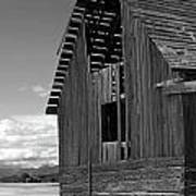 Montana Weathered Barn Art Print