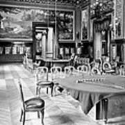 Monte Carlo - Gambling Hall - C 1900 Art Print