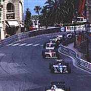 Monte Carlo Casino Corner Art Print