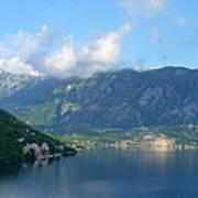 Montenegro's Bay Of Kotor Art Print