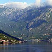 Montenegro's Black Mountains Art Print