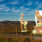 Monterey Farmers Art Print