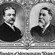 Montgomery Ward Founders Art Print