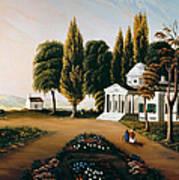 Monticello Art Print