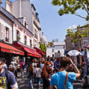 Montmartre Artist Colony Art Print