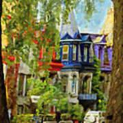 Montreal  Architecture 2 Art Print