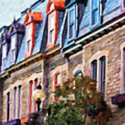 Montreal Architecture Art Print