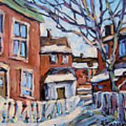 Montreal Scene 03 By Prankearts Art Print