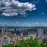 Montreal View Art Print