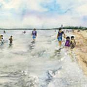 Montrose Beach Art Print