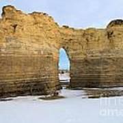 Monument Rocks Arch Art Print