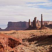 Monument Valley Totem Pole Art Print