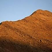 Moon Over Mountain At Sunset Art Print
