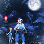 Moon Song Art Print