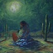 Moonglow Art Print