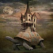 Moonlight Traveler Art Print