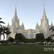 Mormon Cathederal San Diego Art Print