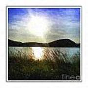 Morning At The Lake Art Print
