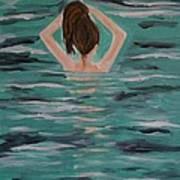 Morning Dip Art Print