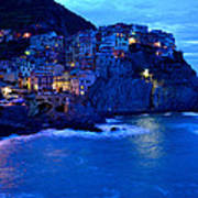 Morning In Manarola Art Print by Barbara Walsh
