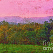 Morning In The Mountains Art Print