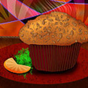 Morning Muffin Art Print by Melisa Meyers