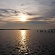 Morning Skies On The Chesapeake Art Print