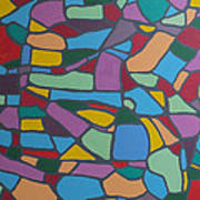 Mosaic Journey Art Print