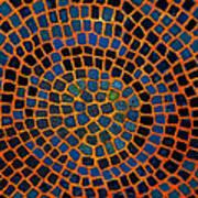 Mosaics Oil Painting Art Print
