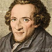 Moses Mendelssohn, German Philosopher Art Print