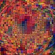 Mosiac Sphere Art Print