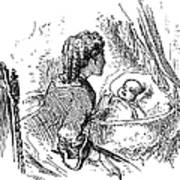 Mother And Child, 1873 Art Print