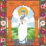 Mother Teresa Of Calcutta Icon Art Print