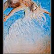 Motivational Angel Art Print