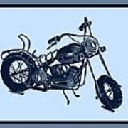 Motorbike 1a Art Print
