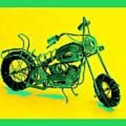 Motorbike 1b Art Print by Mauro Celotti