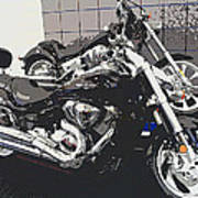 Motorcycle Ride - Five Art Print