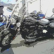 Motorcycle Ride - Three Art Print