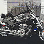 Motorcycle Ride - Two Art Print