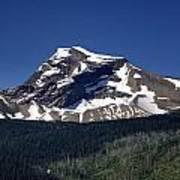 Mount Geduhn Livingston Range Glacier National Park Usa Art Print