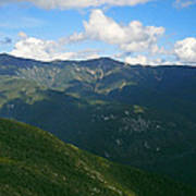 Mount Lafayette From Top Of Cannon Mountain Art Print