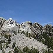 Mount Rushmore Full View Art Print