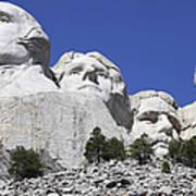 Mount Rushmore National Memorial, South Art Print