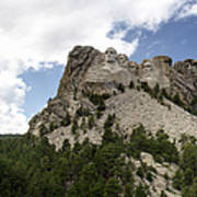 Mount Rushmore National Monument -3 Art Print