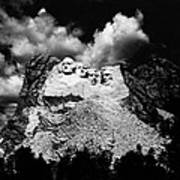 Mount Rushmore, Near Keystone, South Art Print
