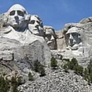 Mount Rushmore Vertical Art Print