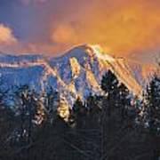 Mount Si Winter Wonder Art Print