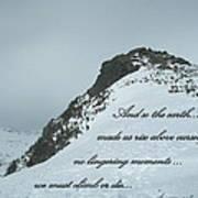 Mount Washington Climb Art Print